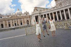Turistas en el Vaticano, Roma setiembre 2015