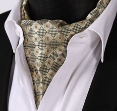 Gold Detailed Ascot
