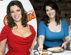 Celebrity Chef Nigella Lawson shows off her curves in her sexiest pictures.