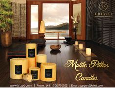 Your home decor can never go wrong with Mottle Pillar Candles.  http://ow.ly/MflH307uErL #home #decoration by #candlelight