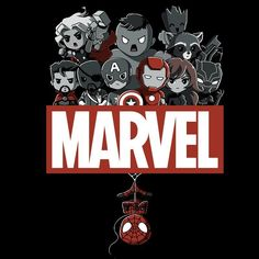 Marvel Superheroes T-Shirt Marvel TeeTurtle