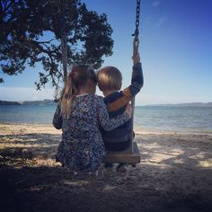 Tree Swing at the beach in front of our Lover Dreamer Beach House
