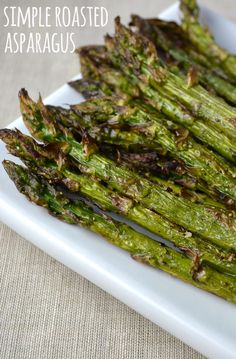 This is one of our favorite ways to prepare asparagus and it only takes 10 minutes!