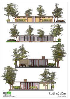 Rodinný dům Forest 2 Design