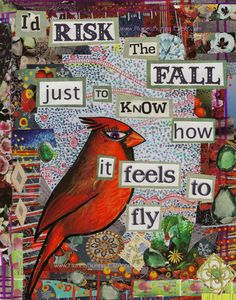 "Tattoo Ideas & Inspiration - Quotes & Sayings | ""I'd risk the fall just to know how it feels to fly"""