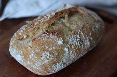Maailman kaunein ja helpoin leipä.