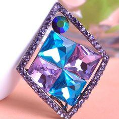 12pcs/lot Wholesale Vintage rhinestone Brooches For Women Wedding Jewelry Color Hijab Pins Bijuterias Bridal Brooch Pin #Affiliate