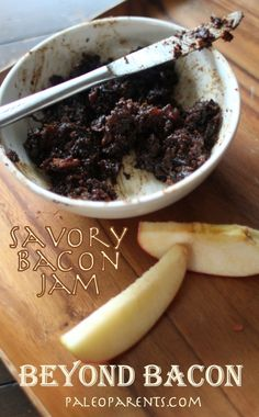 Savory Bacon Jam from Beyond Bacon by @PaleoParents