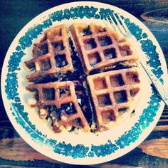 A True Adventure: Blueberry Coconut Waffles (SCD- grain free, dairy free) PALEO