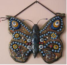NAZARLIK' lı Kelebek  Şekllinde  Anahtar Askılık
