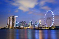 Os 10 lugares mais procurados para Lua de Mel _ Singapura. www.yourwishweddingandbride.com.br