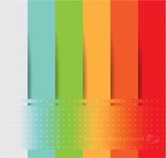 Rainbow Stripe Halftone Background - http://www.welovesolo.com/rainbow-stripe-halftone-background/