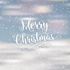 Размытые Рождественская открытка Бесплатные векторы