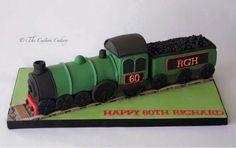 Train cake steam