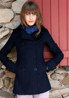 Military Peacoat from Delia's clearance, 39.99, ordered!