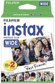Fujifilm Instax Wide Picture Format Film 20 Sheets (Use Before Date March 2016) £10.99