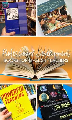 SIX professional development books for English Language Arts teachers. Find new teaching ideas to increase learning and engagement. Teaching Language Arts, English Language Arts, Teaching English, English Teachers, English Classroom, Middle School Ela, Middle School English, School Lessons, Math Lessons