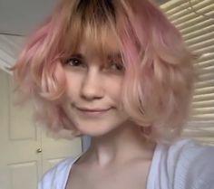 Hair Inspo, Hair Inspiration, Undercut Pixie, Strawberry Blonde Hair, Pastel Hair, Pretty Hairstyles, Human Body, Dyed Hair, Pretty People