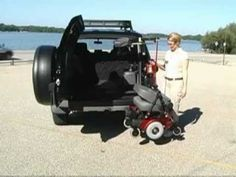 ▶ Bruno VSL 6900 Interior Scooter or Electric Wheelchair Lift | Orange County | 800-708-6399 - YouTube