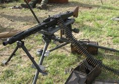 Belt Fed Machine Gun
