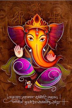 Ads Art Poster Wall decorative and Personalise Greeting cards Shri Ganesh Images, Ganesha Pictures, Lord Ganesha Paintings, Ganesha Art, Ganpati Bappa Wallpapers, Happy Ganesh Chaturthi Images, Grafic Art, Rudra Shiva, Ganesh Lord