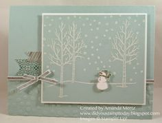 Did You Stamp Today?: Sweet Little Snowman - Fab Friday 49