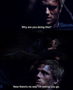 The kiss that I literally squealed at out of excitement -- The Hunger Games