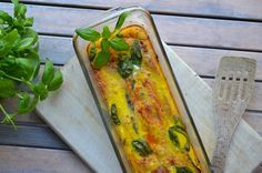Healthy Lasagnine (eggplant, tomato saus basil and more) from Rens Kroes! Website is available in English as well