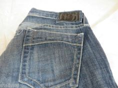 ROBINS JEANS Marilyn SPAC8072IND LOW STRAIGHT Skinny Size 28 Wings