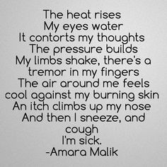 Follow for more poetry by @amaramalikpoetry on Instagram and Pinterest for more! #poetry #poetrycommunity #amaramalikpoetry  #Regram via @BLTtIPpgDCu Eyes Watering, Im Sick, My Eyes, Poetry, Thoughts, Feelings, Instagram, Ideas, Poems