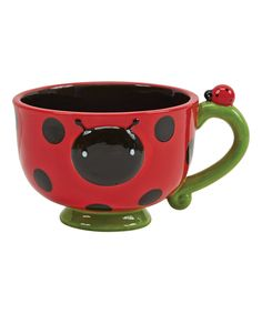 Look at this #zulilyfind! Ladybug Mug by Boston Warehouse #zulilyfinds