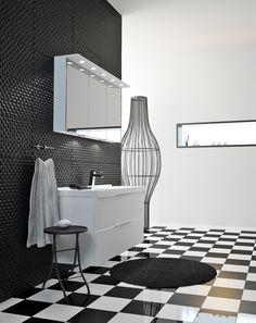 Temal Trend – muotokieleltään yksinkertainen ja mitoitukseltaan moninkertainen, tyylikäs Trend, 5cm välein! #trend #temaltrend #temalfinland #designfromfinland #habitare2014 #design #sisustus #messut #helsinki #messukeskus Helsinki, Interior Design, Bathrooms, Cookies, Home, Nest Design, Crack Crackers, Home Interior Design, Bathroom