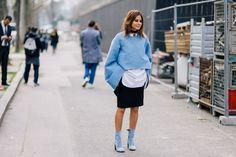 Street style: лучшие образы с ботильонами #мода #стиль #тренды #ботильоны
