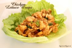 I Dig Pinterest: Chicken Lettuce Wraps