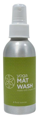 This USDA certified Organic mat cleaner is 100% all natural and non-toxic.  It is made of tea tree extract and natural essential oil blends and it great to use to keep your Gaiam Yoga mat clean and fresh.