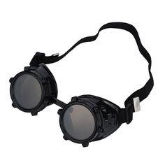 Desert Welding Goggles with Interchangeable Lenses.