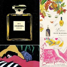 Back In Time: A Look at Vintage French Perfume Ads