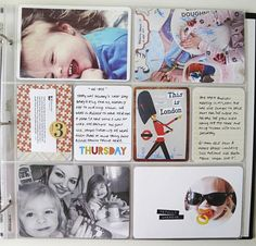 """Project Life, Week Three + Free Downloads of the """"Totally Awesome' card."""