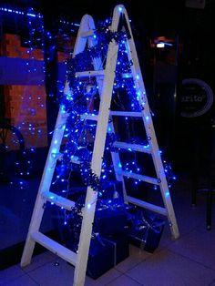 Tu árbol de navidad. Que también puede ser una escalera. Ho, ho, ho
