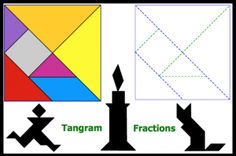 Tangram Fractions. A popular and fun activity.