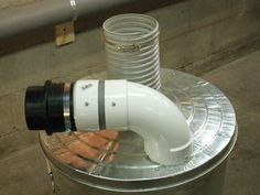 HARBOR FREIGHT DUST COLLECTOR CONVERSION