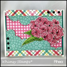 Whimsy Hydrangea Whimsy Stamps, Copic Markers, Hydrangea, Charts, Card Making, Paper Crafts, Scrapbook, Blog, Graphics