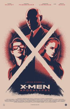 X-MEN: APOCALYPSE for 20th Century Fox and Poster Posse on Behance
