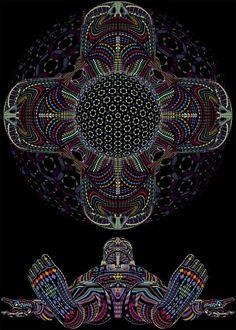 Processo Real Flor da Vida Multidimensional Transformação Universal Plano Astral Humano Espiritual Tudo e Todos Tempo Espaço