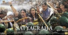 Satyagraha Poster: Fighting Against Corruption!