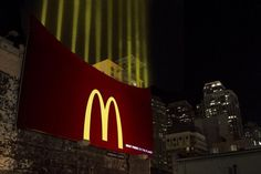 Mc Donalds Light French Fries #advertising #outdoor #billboard