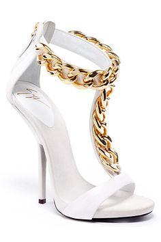 My trashy little heart loves these. Giuseppe Zanotti Spring/Summer 2013