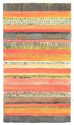Gunta Stölzl > Works > Bauhaus Dessau > Designs for Wall Hangings Bauhaus Textiles, Motifs Textiles, Textile Patterns, Tribal Patterns, Floral Patterns, Surface Pattern Design, Pattern Art, Stripe Pattern, Vector Pattern