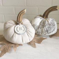 Autumn Nature, Pumpkins, Burlap, Reusable Tote Bags, Cottage, Halloween, Fall, Fabric, Diy