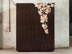 Wooden highboard with doors LF 02 LF Collection by Atelier MO. Console Cabinet, Storage Shelves, Shelving, Custom Made Furniture, Door Design, Doors, Contemporary, Milano, Consoles